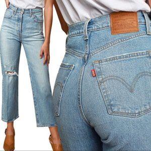 Levis Premium Ribcage Straight Tango Fade Jeans